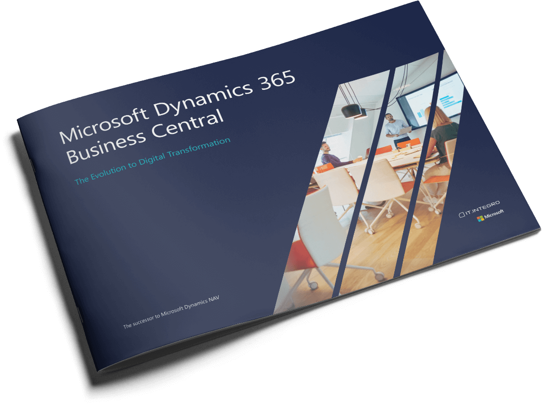Folder about erp system Microsot Dynamics 365 Business Central